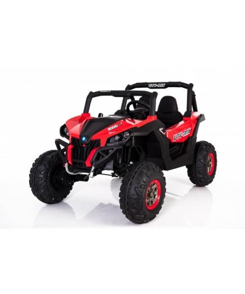 UTV KXD 4x4 Buggy electric pentru copii, culoare rosu