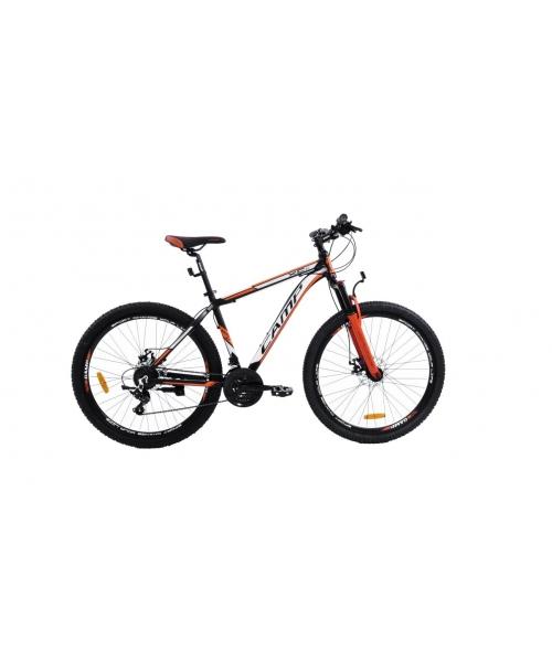 """Bicicleta MTB Camp XC 4.2, roata 29"""", aluminiu, frana mecanica pe disc, culoare portocaliu/negru, cadru 18''"""