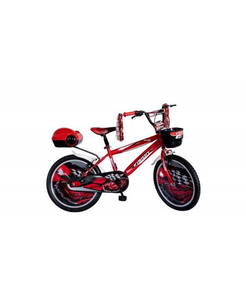 """Bicicleta Copii Vision Jump Culoare Rosu/Negru Roata 20"""" Otel"""