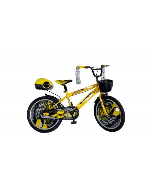 """Bicicleta Copii Vision Jump Culoare Galben/Negru Roata 20"""" Otel"""