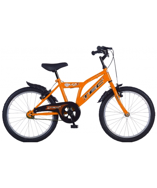 "Bicicleta Copii TEC Ringo Culoare Portocaliu Roata 20"" Otel"