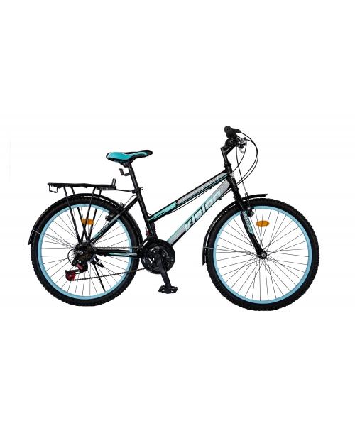 """Bicicleta MTB Dame Vision Elegance Culoare Negru/Albastru Roata 26"""" Otel"""