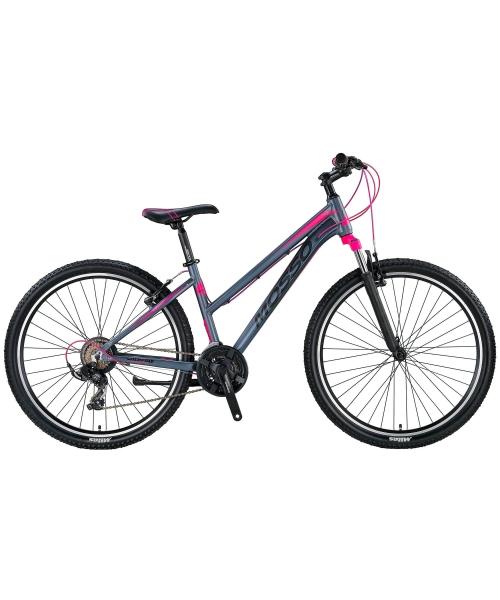 "Bicicleta Mosso Wildfire V Lady , Roata 27.5"" , Aluminiu , Culoare Gri/Roz"