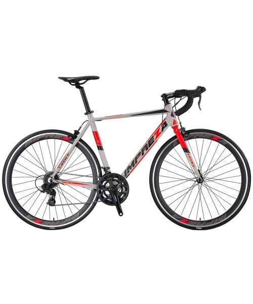 Bicicleta Umit Cursiera Impreza-Tourney- Roata 700C , 14 Viteze , Cadru 500mm Aluminiu, Culoare gri