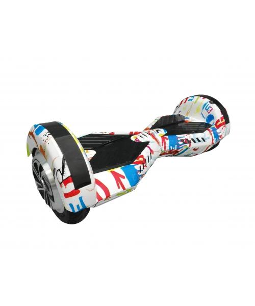 "Hoverboard Smart Balance KXD Roti 8"" Multicolor 2x350W 24V ,functie Bluetooth"