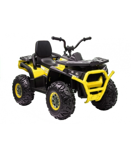 ATV KXD electric copii, 12v7ah mit RC, culoare galben