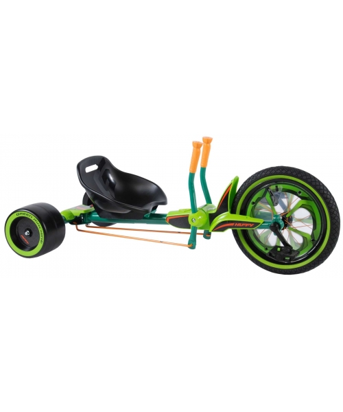 Green Machine 16 inch - baieti si fete - negru / verde