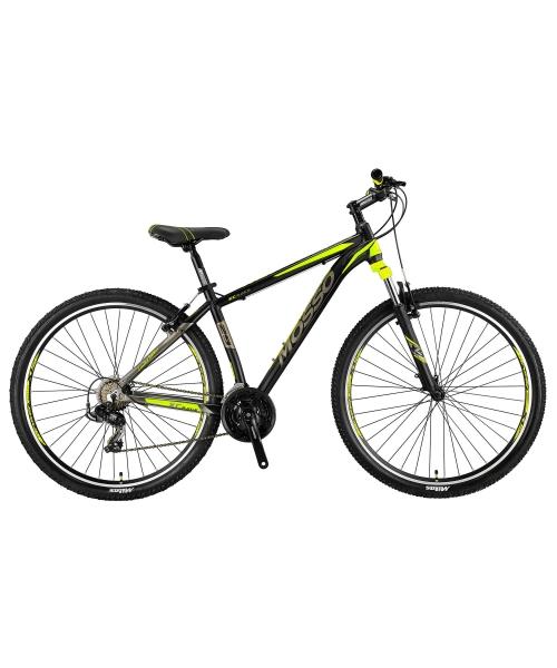 """Bicicleta MTB Mosso Wildfire M , Roata 29""""- V , Tourney , Cadru 16"""", Culoare Negru/Lime"""