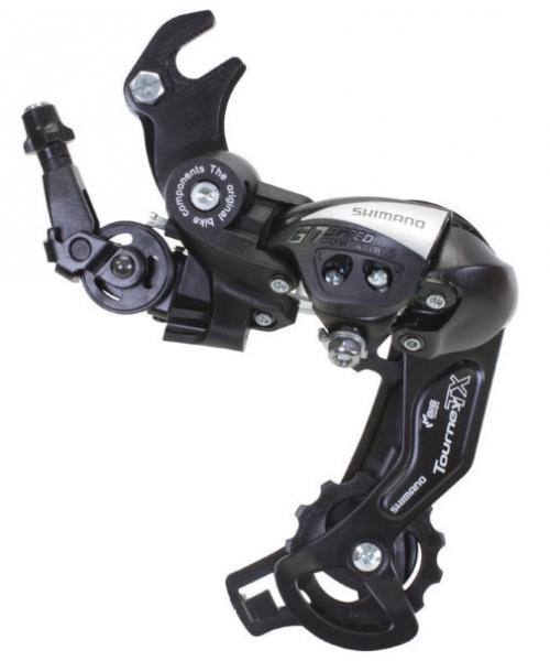 Schimbator Spate Shimano Tourney RD-TY500 6/7 Vit , Prindere Ax, Ghidaj cablu de tip rola