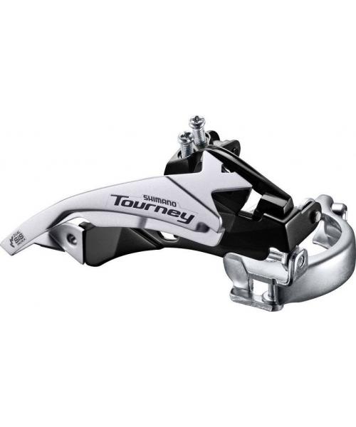 Schimbator fata Shimano Tourney TY500-TS3 tragere dubla 6/7 viteze colier jos 34,9 mm unghi 63-66