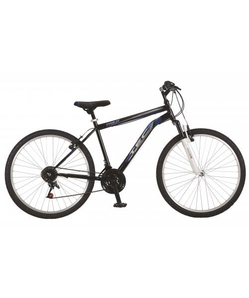 """Bicicleta MTB TEC Titan Suspensie Fata ,Culoare negru/albastru, Roata 26"""" Otel"""