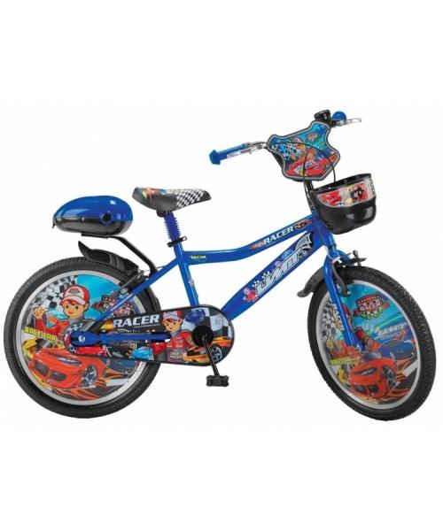 "Bicicleta Copii umit Racer , Culoare Albastru, Roata 20"" , Otel"
