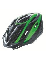 Casca Rider Culoare Negru/Verde Marime M (54-58cm)