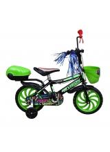 """Bicicleta Copii Vision 15, culoare verde, roata 15"""", cadru Otel"""