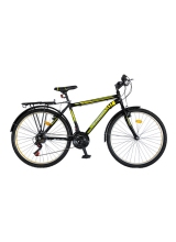 """Bicicleta MTB Vision Champion MAN Culoare Negru/Verde Roata 24"""""""