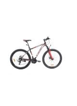 """Bicicleta MTB Camp XC 4.0, roata 26"""", aluminiu, frana mecanica pe disc, culoare rosu/negru, cadru 18''"""