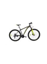 """Bicicleta MTB Camp XC 200, roata 29"""", aluminiu, frana pe disc hidraulica, culoare galben/negru, cadru 18"""""""