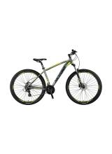"""Bicicleta Mosso RaceLine Hidraulic Roata  27.5"""" , Cadru 18"""" , 24 Viteze , Culoare gri/lime"""