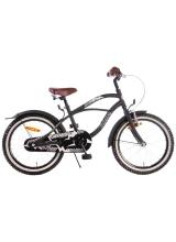 Bicicleta Volare Black Cruiser pentru copii - Baieti - 18 inch - Negru - 95 asamblat culoare Negru mat