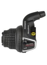 Maneta De Schimbator Shimano Tourney Sl-Rs35-Ln, 3 Vit. (Friction), Revo Shifter, Cablu 2050Mm, Cu O.G.D.D.(Window Type), Vrac