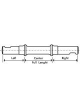 Ax Pedalier Pana Conica 47x57x47mm