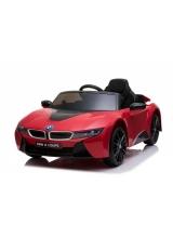 Masina electrica copii E-Car KXD BMW i8, 12v, culoare rosu