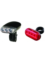 Set Far + Stop Eskimo + Hi Five 3 Led-uri 5 Led-uri 2 Functii Negru