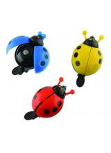 Sonerie Copii Lady Bug Metal/Plastic Diametru 50mm Multicolor