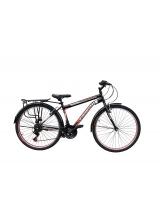 """Bicicleta MTB Vision Champion MAN Culoare Negru/Rosu Roata 26"""""""