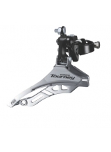 Schimbator Fata Shimano Tourney Fd-Ty300, Triplu, Sis, Tragere De Jos, Colier 28.6Mm, For 42T, Unghi Cs 66-69, Chainline 47.5Mm, Ambalat Ind.