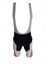Pantaloni Ciclism Culoare Negru/Rosu Marime M