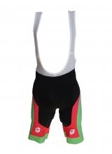 Pantaloni Ciclism Culoare Roz/Verde Marime M