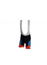 Pantaloni Ciclism Copii culoare Negru/Albastru , Marime 8 Ani