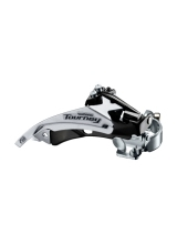 Schimbator Fata Shimano Tourney Fd-Ty500-Ts6, Triplu, Pt. 6/7 Vit. Pe Spate, Top Swing, Tragere Dubla, Colier 34.9Mm (Incl. Adaptor 31.8Mm & 28.6Mm), Unghi Cs 66-69, For 42T, Chainline 47.5/50Mm, Ambalat Ind.
