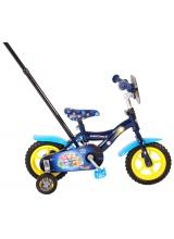 Bicicleta pentru baieti Paw Patrol Mighty Pups de 10 inch culoare Albastru