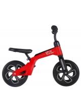 QPlay Tech Balance Bike - Baieti si fete - 10 inch - Rosu