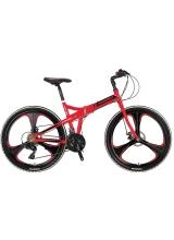 """Bicicleta Pliabila Mosso Marine ACR 2D , cadru 17"""" Aliminiu, Roata 26"""", Culoare Rosu"""