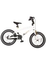 Bicicleta Volare Cool Rider pentru copii - Baieti - 16 inch - Alb - 95 asamblat culoare Alb
