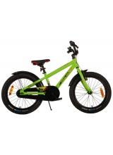 Bicicleta Volare Rocky pentru copii - 18 inch - Verde - 95 asamblat - Prime Collection culoare Verde