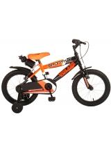 Bicicleta pentru copii Volare Sportivo - Baieti - 16 inch - Neon Orange Black - Doua frane de mana - 95 asamblat culoare Neon Portocaliu Negru