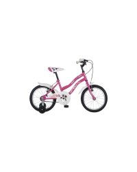 "Bicicleta Copii TEC Angel Culoare roz ,Roata 16"" Otel"