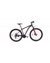 """Bicicleta MTB Camp XC 200, roata 27.5"""", aluminiu, frana pe disc hidraulica, culoare rosu/negru, cadru 20"""""""