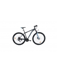 """Bicicleta MTB Camp XC 200, roata 27.5"""", aluminiu, frana pe disc hidraulica, culoare albastru/negru, cadru 20"""""""