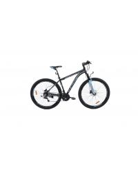 """Bicicleta MTB Camp XC 200, roata 27.5"""", aluminiu, frana pe disc hidraulica, culoare albastru/negru, cadru 18"""""""