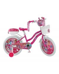 "Bicicleta copii UMIT Princes , culoare roz , roata 20"" , otel"