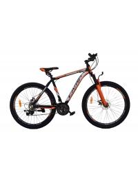 """Bicicleta MTB Camp XC 4.1, roata 27.5"""", aluminiu , frana pe disc mecanica, culoare portocaliu/negru , cadru 20"""""""