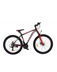 """Bicicleta MTB Camp XC 4.2, roata 29"""", aluminiu, frana mecanica pe disc, culoare rosu/negru, cadru 18''"""