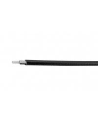 Teaca cablu schimbator Alligator, insertie PVC Ø4, culoare negru, produsul se vinde la metru
