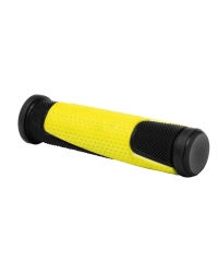Mansoane WAG Double D, lungime 125mm, culoare negru/galben