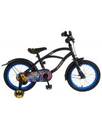Bicicleta pentru copii Batman - Baieti - 16 inch - Negru culoare Negru